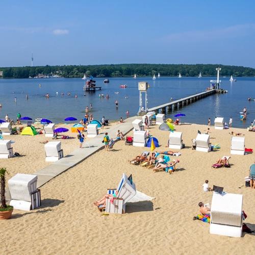Strandbad, Großer Wannsee, Berlin